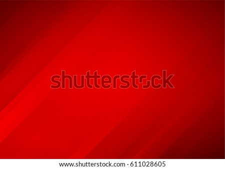 Abstract red vector background with stripes - Shutterstock ID 611028605