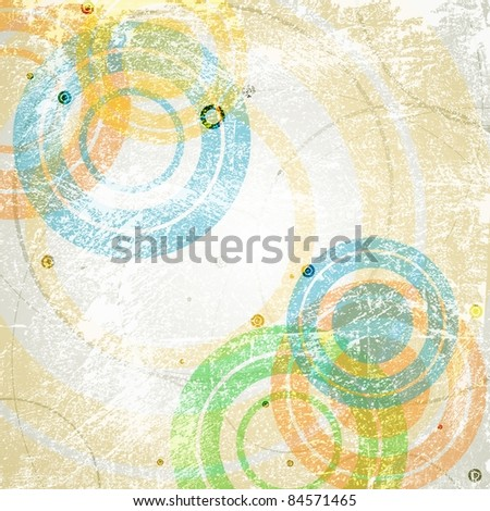Abstract retro background. Vector eps 10