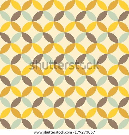 abstract retro geometric