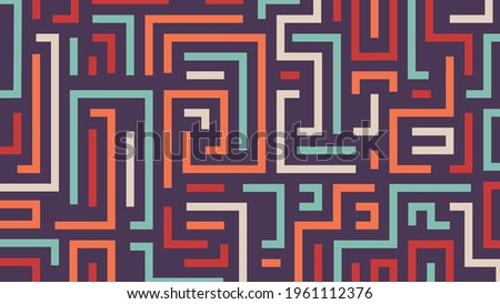 abstract retro lines background