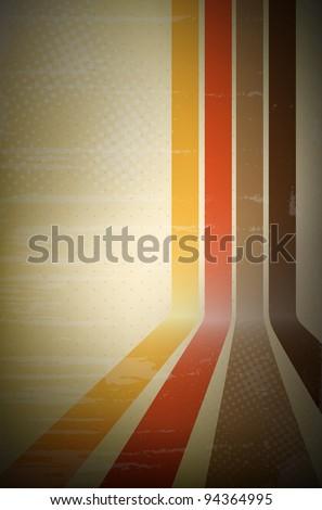 abstract retro stripe