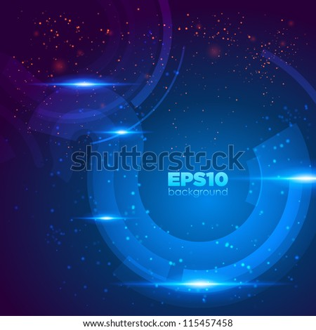 Abstract retro technology background. Vector illustration.