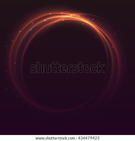 abstract ring background with