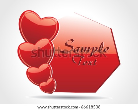 ABSTRACT ROMANTIC BACKGROUND FOR LOVE #66618538