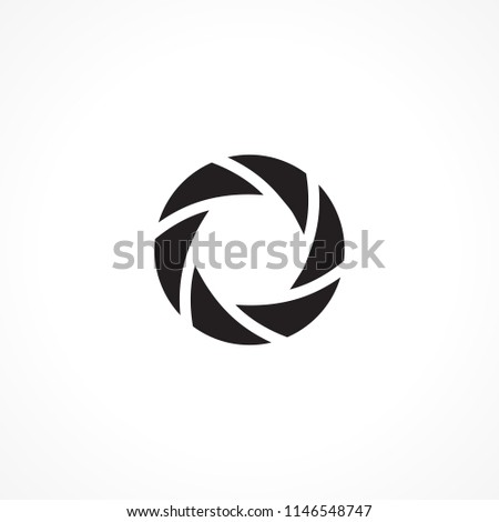 Abstract Round Aperture