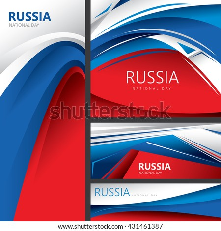 abstract russian flag  russia