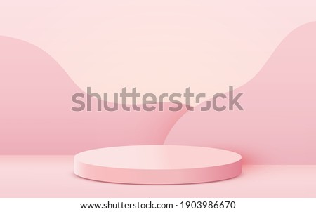 abstract scene background