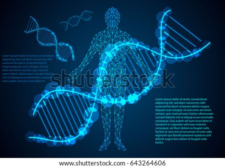 abstract science concept humans