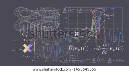 abstract scientific background