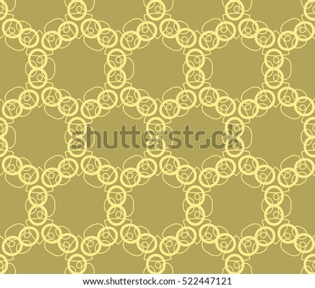 abstract seamles geometrie pattern. Vector illustration. Yellow color. for wallpaper. design page fill #522447121