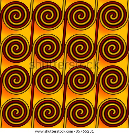 Abstract seamless a pattern a background in the Greek style in a vector