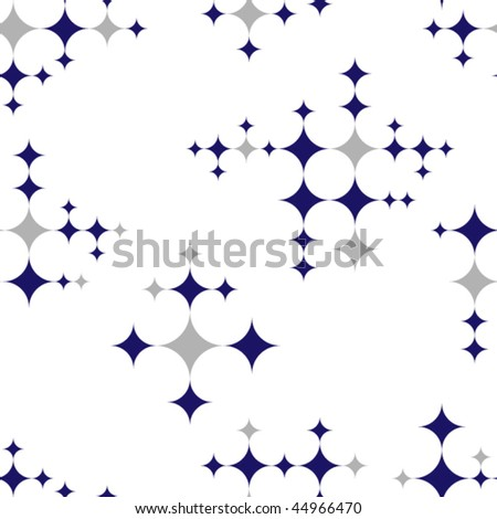 Abstract seamless background pattern with blue and grey squares