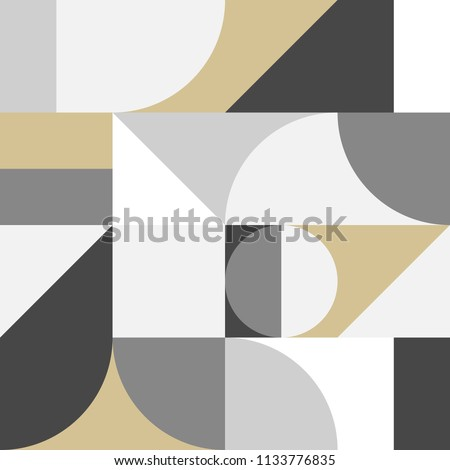 abstract seamless bauhaus