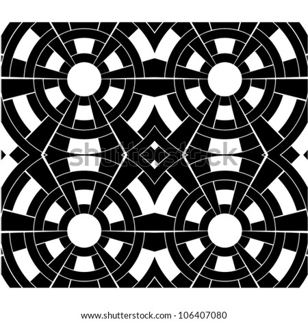 Abstract Black And White Design Pattern   GL Stock Images