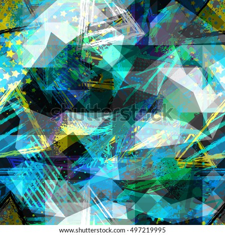 abstract seamless chaotic
