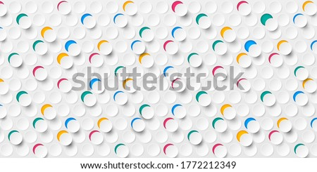 abstract seamless colorful 3d