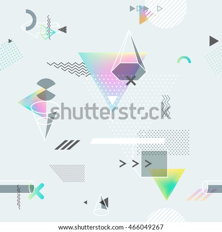 abstract seamless geometric