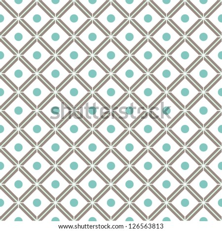 Abstract seamless geometric pattern.Vector illustration