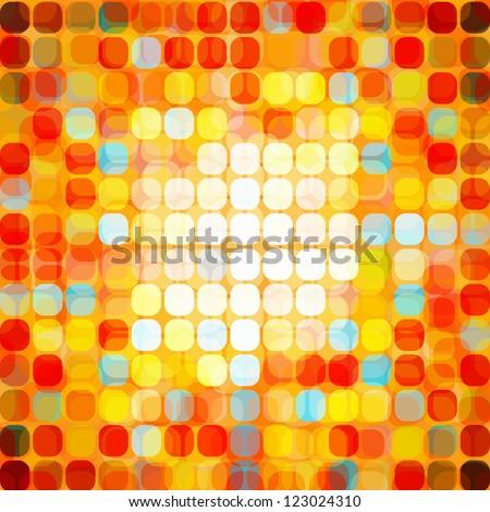 Abstract Seamless Mosaic | EPS10 Vector Illustration