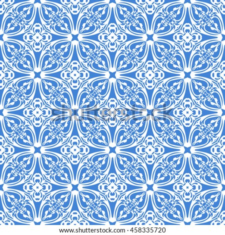 abstract seamless pattern of