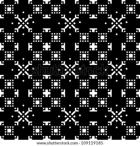 abstract seamless  pattern textures in black and white colors, vector illustration