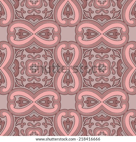 Abstract seamless pattern. Vector illustration. Design element #218416666