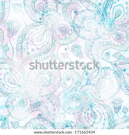 Abstract seamless pattern. Vector illustration, EPS 10