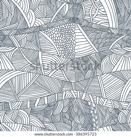 abstract seamless patterns with
