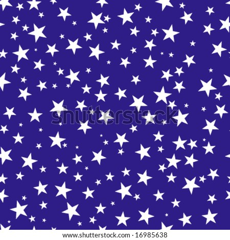 abstract seamless repeat pattern with stars