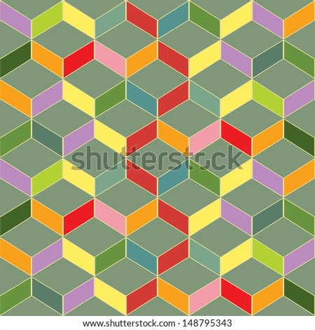 Abstract Seamless repeating tile background.Vector EPS10