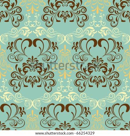 Abstract seamless retro pattern. Illustration vector.