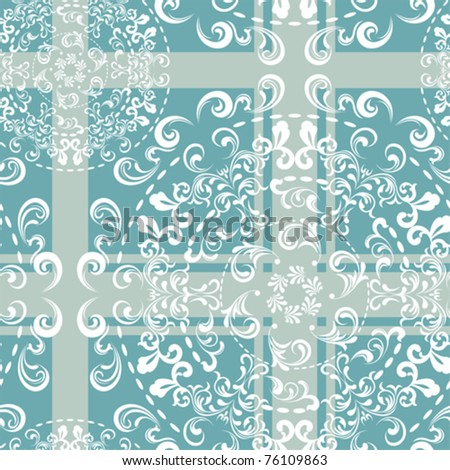 Abstract seamless retro pattern. Illustration vector. - stock vector