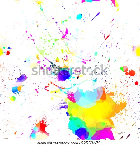 abstract seamless splashes