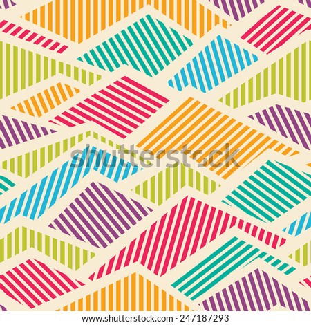 abstract seamless striped