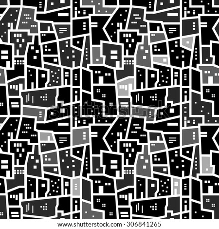 Vector Images Illustrations And Cliparts Abstract Seamless Texture Unique Urban Pattern
