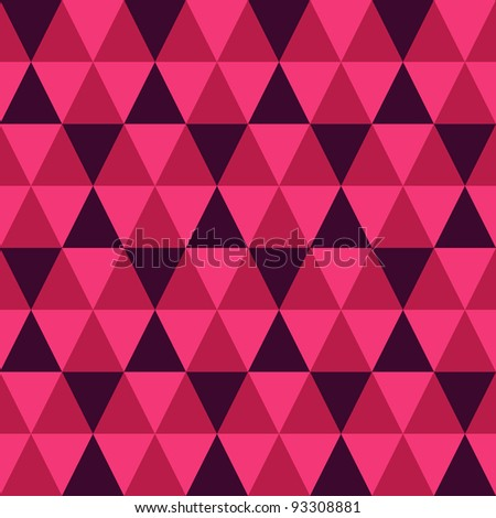 abstract seamless triangle pattern. Colorful vector illustration.