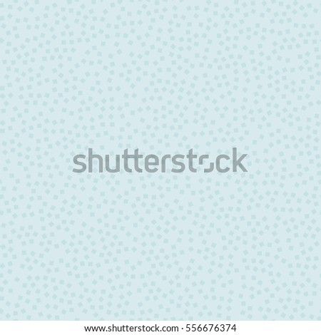 Abstract seamless vector background with random squares. Modern stylish endless texture