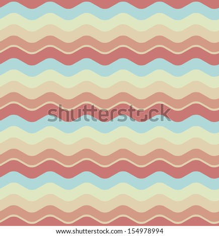 Abstract seamless wave background