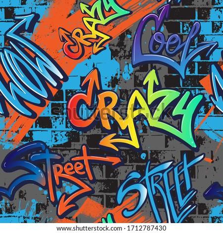 abstract seamlessgraffiti