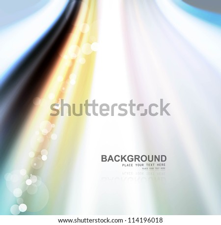 abstract shiny colorful wave backgriund vector