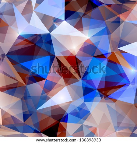 abstract shiny crystal background