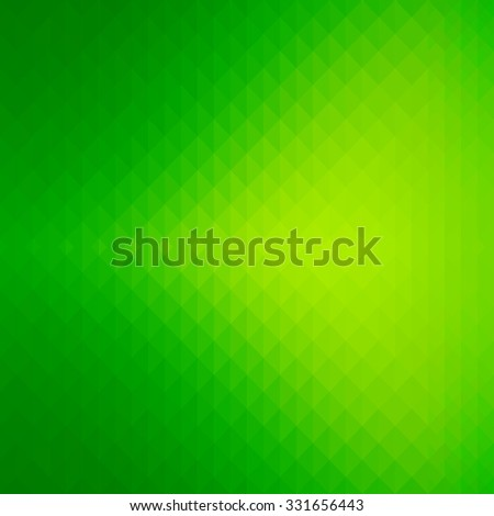 Abstract shiny geometric background with green color tones