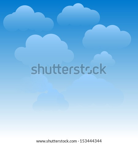 Abstract sky with clouds