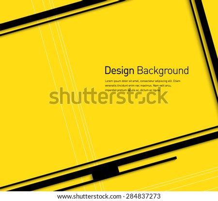 Abstract smart TV symbol background for business design, technology, presentation, widescreen, television, multimedia, advertisement. Flat design style