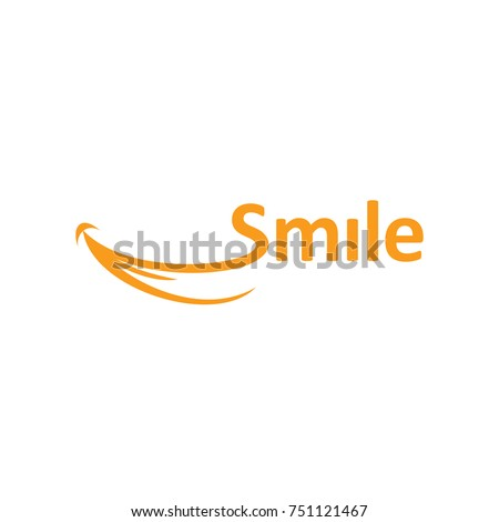 Abstract Smile Logo