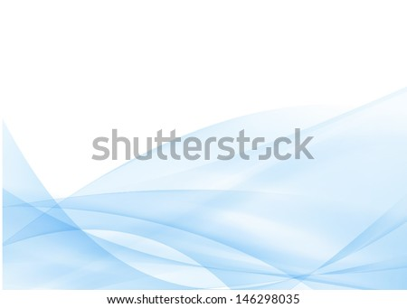 Abstract Smoke Background Vector business Smoke Blue