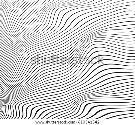 abstract smooth gray wave curve motion lines graphic