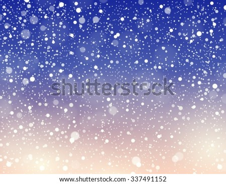 Abstract snow theme background 6 - eps10 vector illustration.