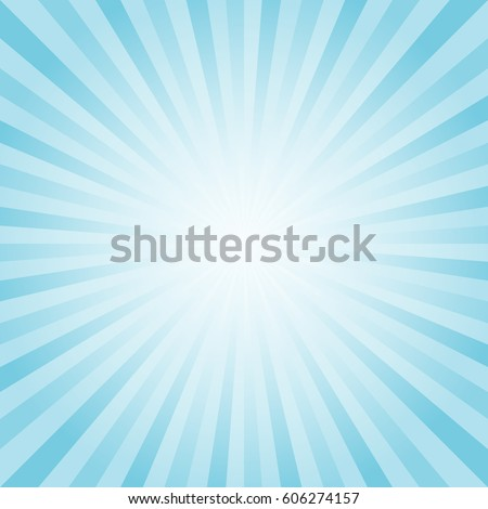 abstract soft blue cyan rays
