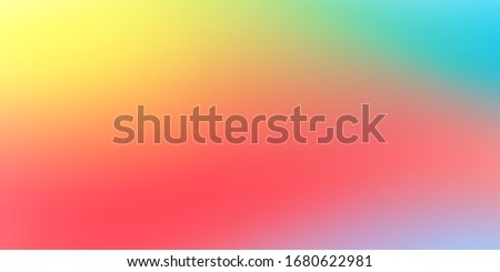 Abstract soft cloud background in pastel colorful gradation. Texture decorative elements with gradient and freedom style. Eps 10 vector illustration. Foto d'archivio ©